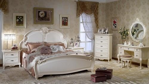 habitacion matrimonio con estilo frances