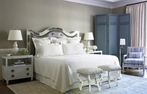 usar biombo como vestidor en dormitorio