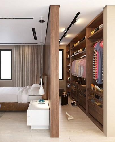 vestidor dormitorio mujer