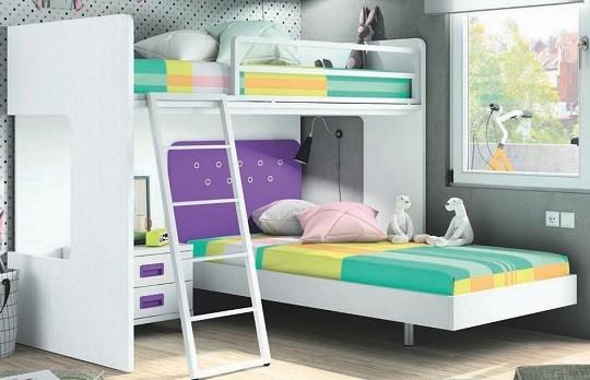 Por que usar camas tren en dormitorios infantiles y - Camas tren infantiles ...