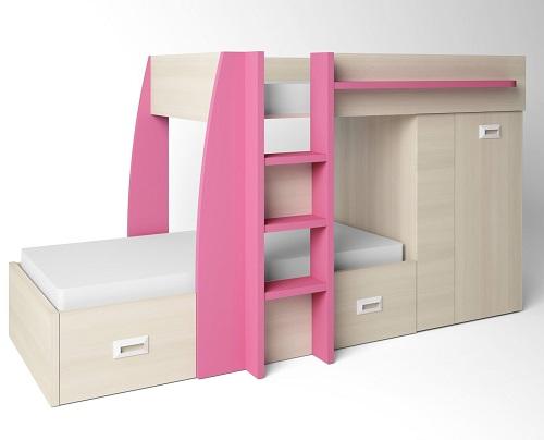 ventajas cama tren en habitaciones infantiles y juveniles