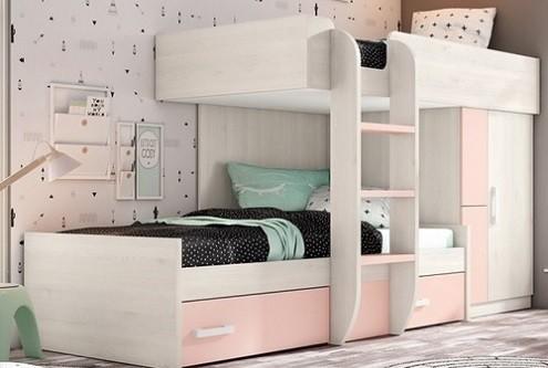 Por que usar camas tren en dormitorios infantiles y - Camas tren para ninos ...