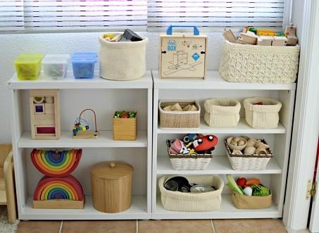 organizador para juguetes del bebe