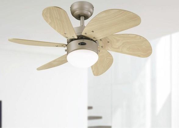 6 aspas ventilador techo