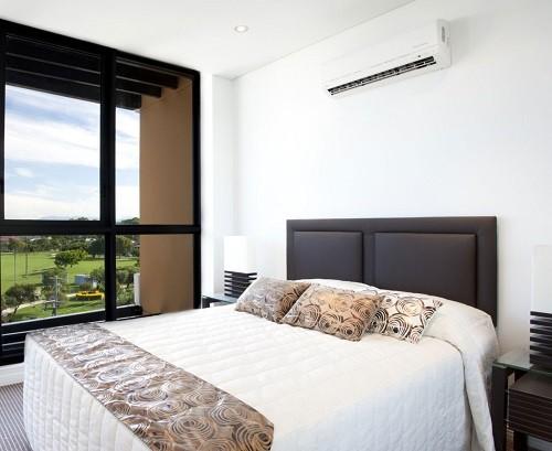 aire acondicionado en habitacion