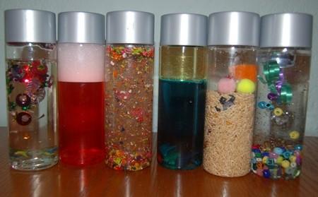 botellas sensoriales para niños