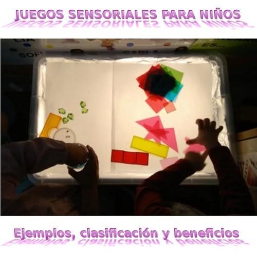 Juegos sensoriales para niños - Ejemplos, juguetes y clases