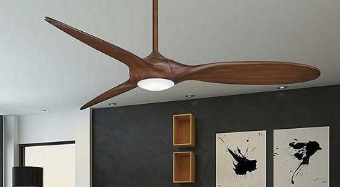 ventilador de madera para techo