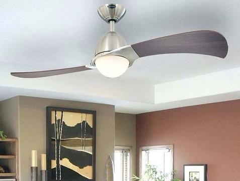 ventilador para techo con dos aspas