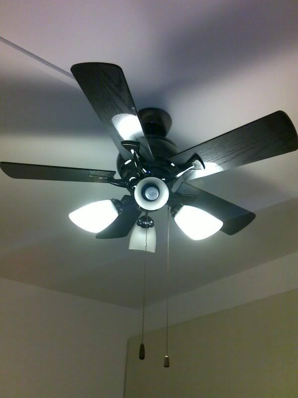 ventilador techo con focos