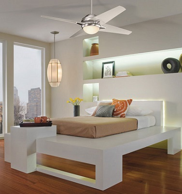 ventilador techo en habitaciones