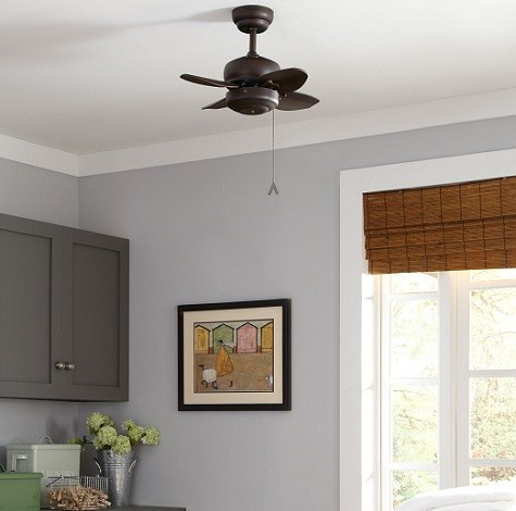 ventilador techo para habitacion pequeña