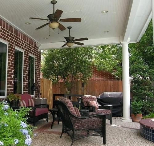 ventiladores de techo para terrazas