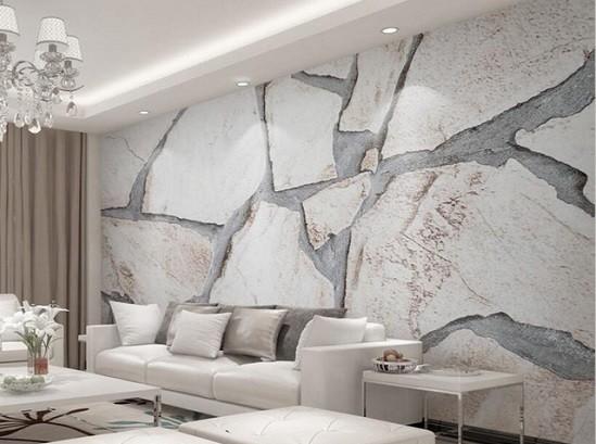 imitacion piedra papel de pared