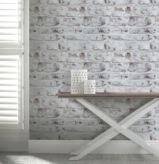 Como elegir el mejor papel pintado para paredes - Papel pintado rustico ...
