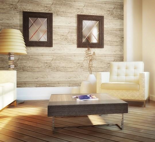 papel pintado para paredes efecto madera