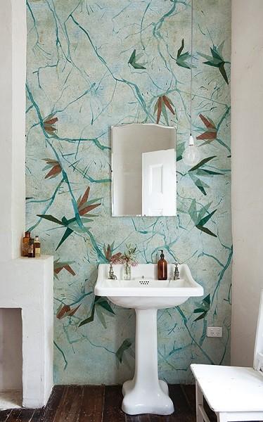 papel pintado de pared resistente al agua o humedad