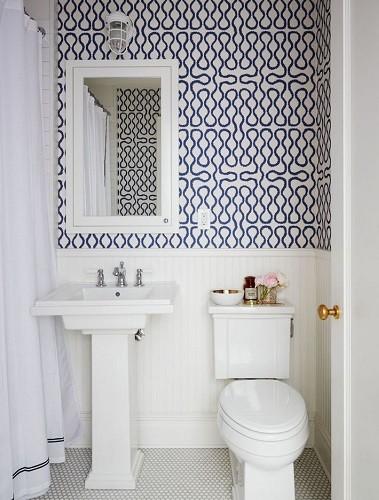 Como elegir el mejor papel pintado para paredes - Papel pintado para bano ...