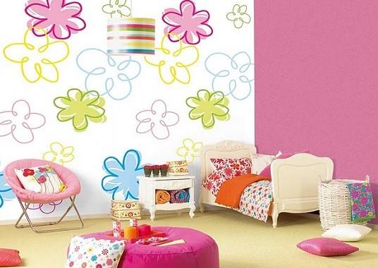 papel pintado para dormitorios infantiles