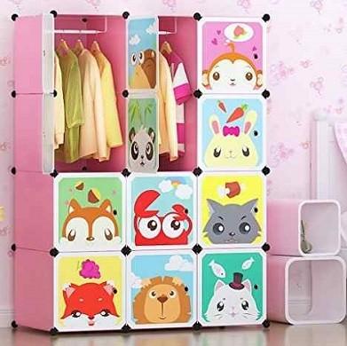 armario de plastico divertido para niños