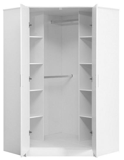 armario ropero esquinero por dentro