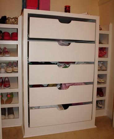 cajonera para organizar armario infantil