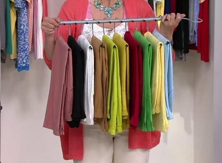 como ordenar pantalones de niño en armario ropero