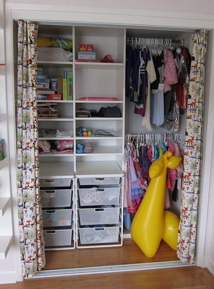 cortinas para armario ropero infantil