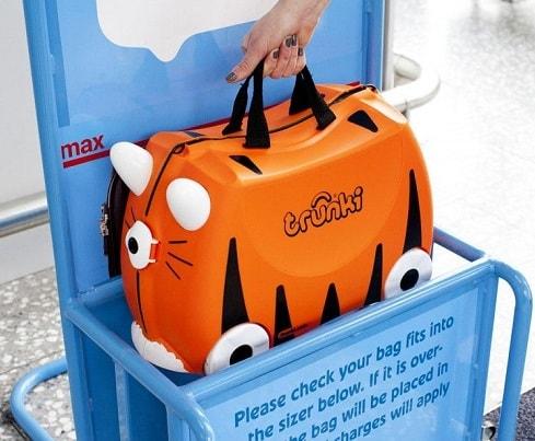 maleta de cabina infantil para avion