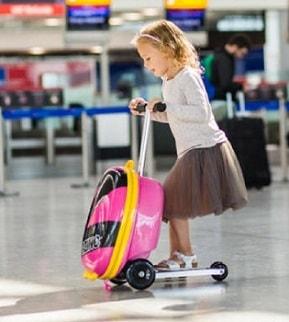 maleta patinete para niños