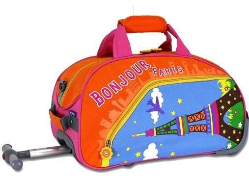 maletas infantiles de viaje comodas transportar