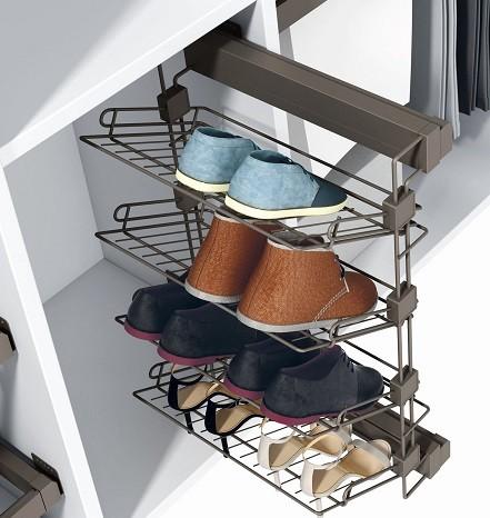 Como ordenar decorar y organizar armarios infantiles - Armarios para zapatos ...