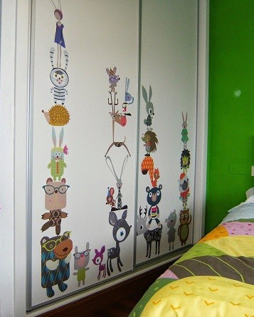 vinilos para armarios infantiles