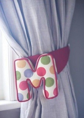 abrazaderas personalizadas cortinas de niños