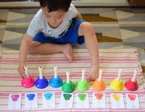 aprender musica jugando metodo montessori