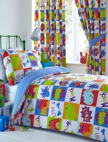 colchas y cortinas infantiles a juego