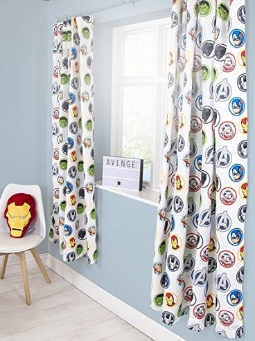cortinas de superheroes