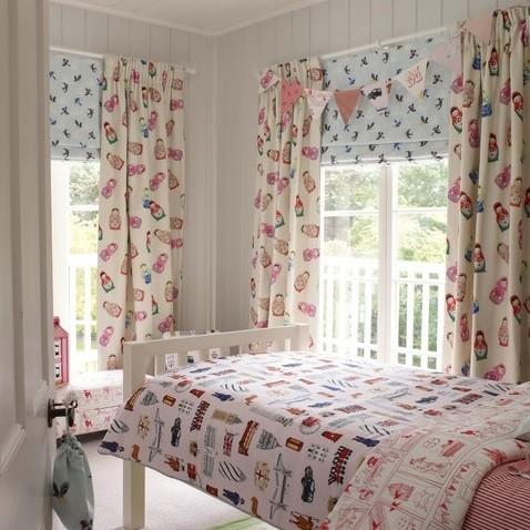 cortinas infantiles dormitorios niños