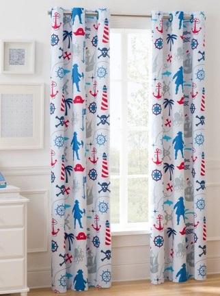 cortinas opacas para dormitorio infantil