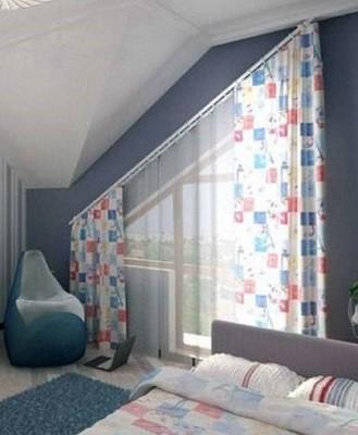 cortinas para atico cuarto niños