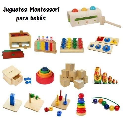 juguetes Montessori para bebes