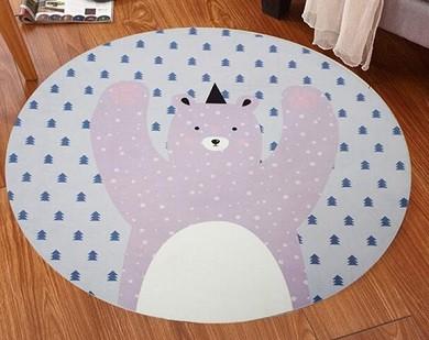 alfombra redonda para habitacion niños