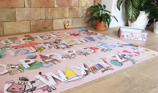 alfombra infantil lavable de vinilo pvc