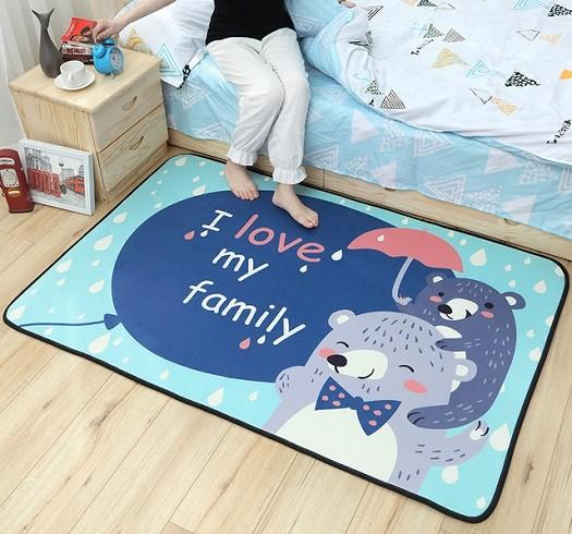alfombras infantiles para cama
