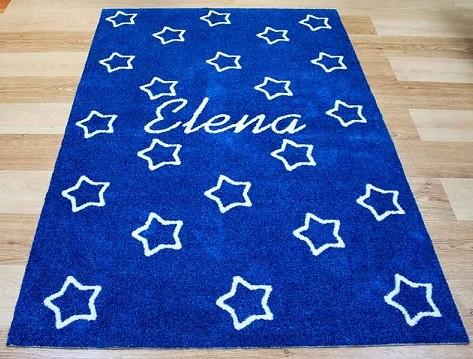 alfombra personalizada con nombre de niña