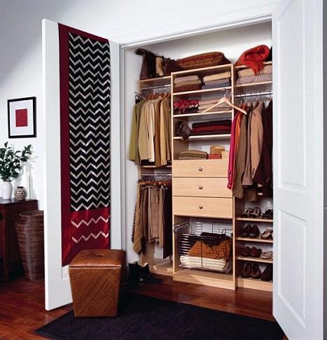 aprovechar espacio con armarios empotrados