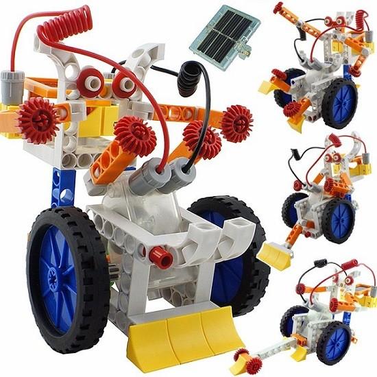 juguete robot armable