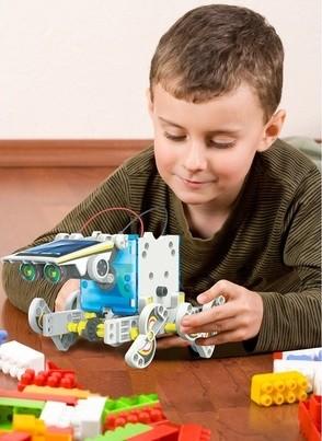 juguetes robots armables para niños