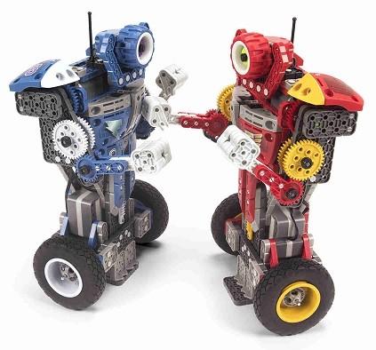 juguetes robots boxeadores