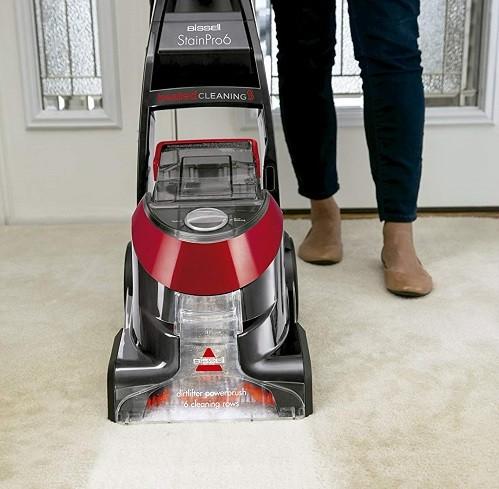 maquina limpia alfombras para casa